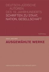 Schriften zu Staat, Nation, Gesellschaft