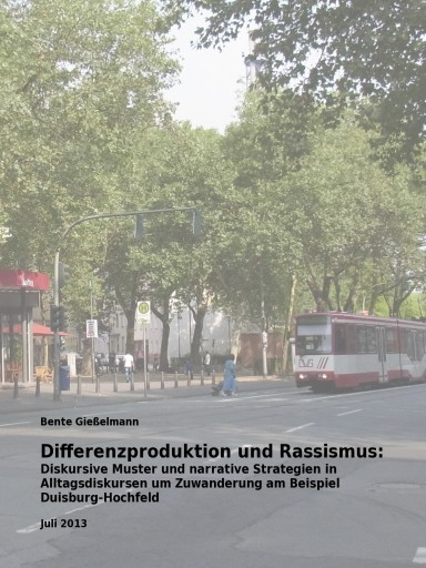 Bente Gießelmann: Differenzproduktion und Rassismus