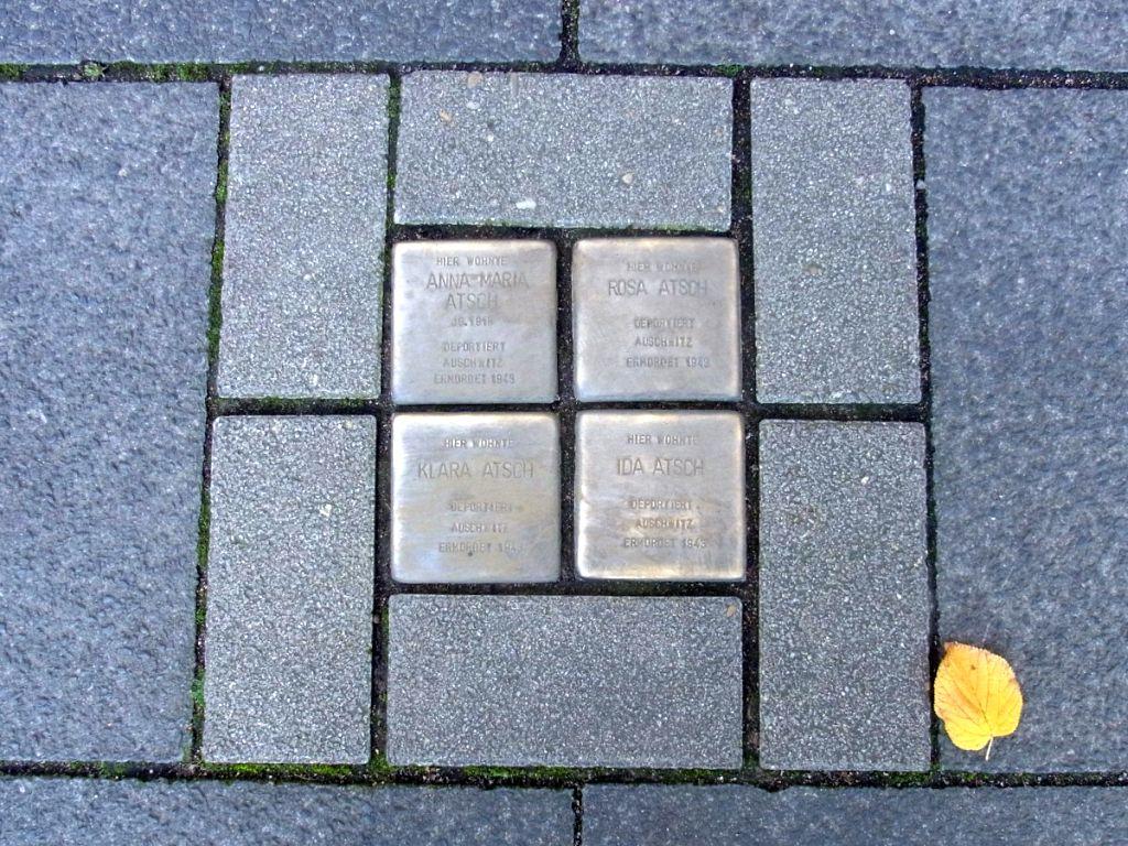 Abbildung 2 (MD): Stolpersteine Koloniestraße
