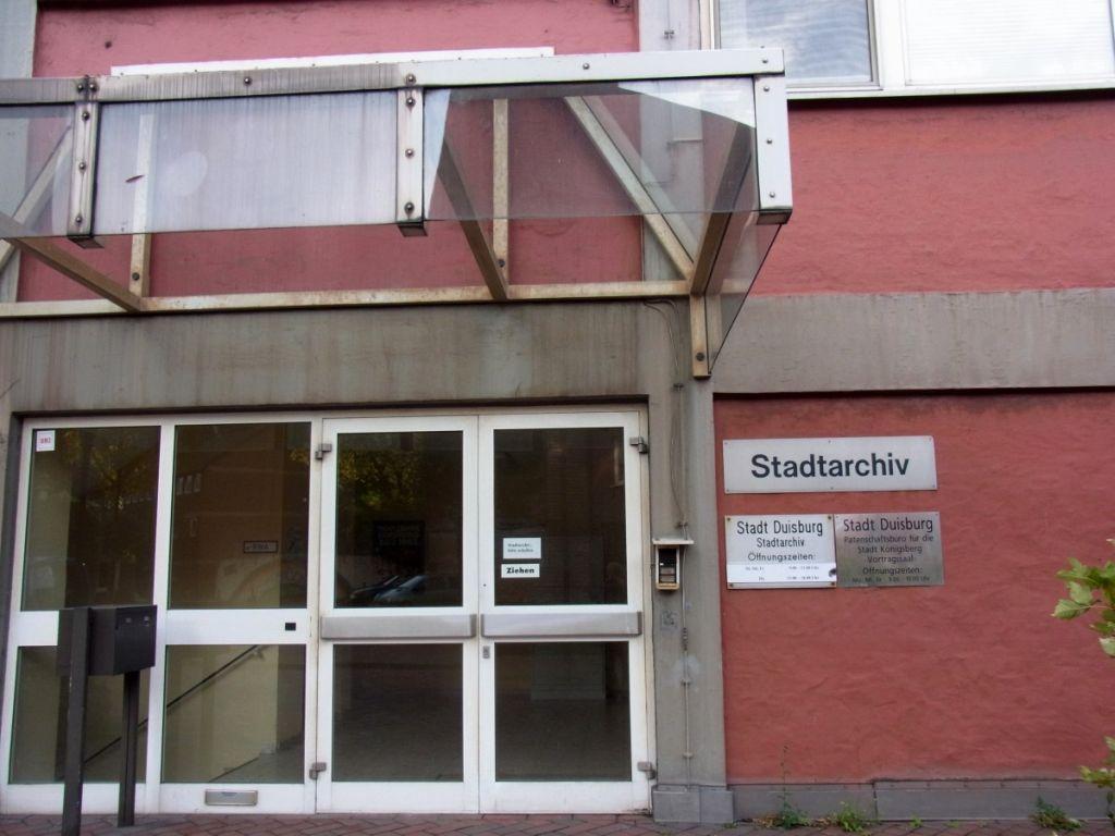 Abbildung 4 (MD): Stadtarchiv