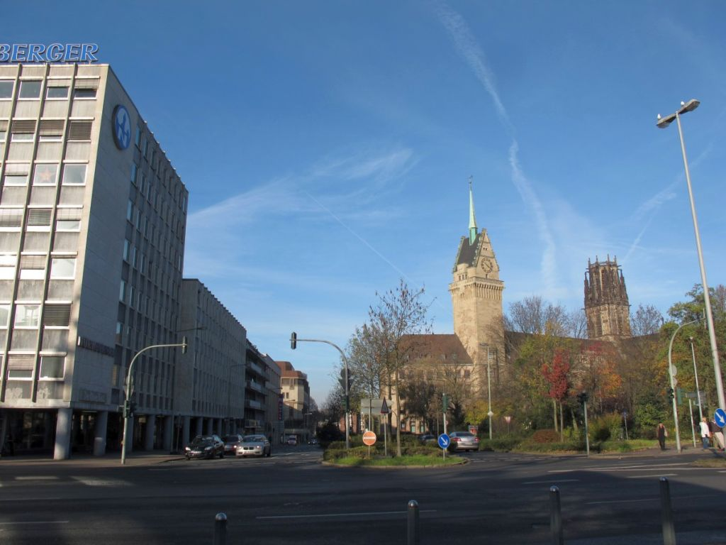 Abbildung 11 (MD): Schwanenstraße heute