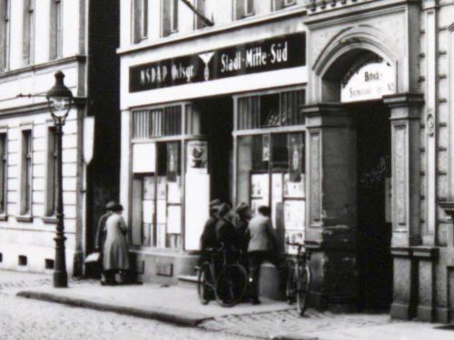 Abbildung 21 (Stadtarchiv Duisburg, MD): Historisches Foto Musfeldstraße (Ausschnitt)