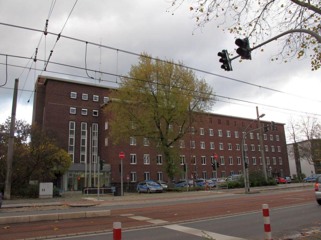 Abbildung 28 (MD): Das Polizeipräsidium Düsseldorfer Straße heute