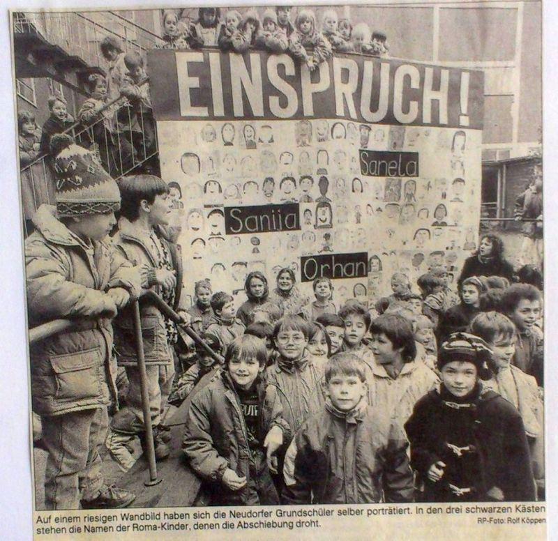 "Abbildung 37 (Stadtarchiv Duisburg, Zeitungsausschnittsammlung, MD): RP 14.1.1992 Hanns Dieter Hüsch wird am Samstag ""Einspruch"" erheben"
