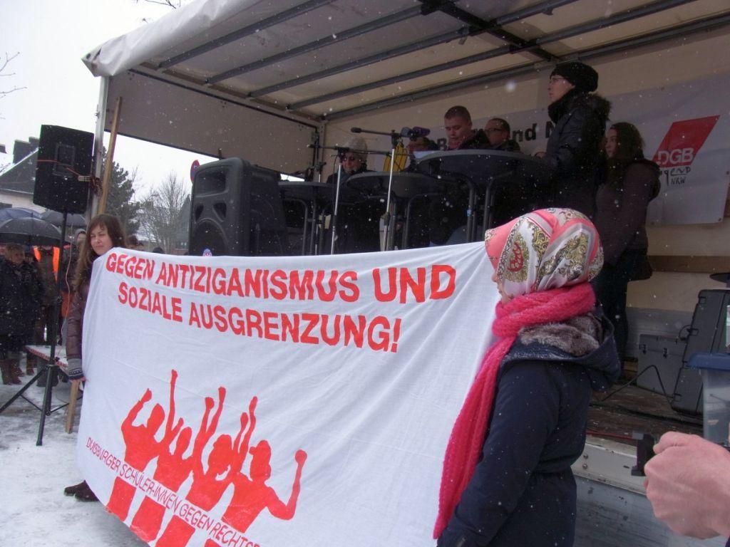 Abbildung 39 (MD): Demonstration in Duisburg-Bergheim 2013 - Duisburger Schüler-innen gegen Rechts