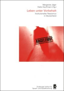 PDF-Wiederveröffentlichung: Sammelband zum Instititutionellen Rassismus