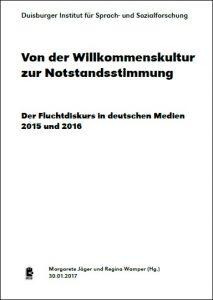 Broschüre: Von der Willkommenskultur zur Notstandsstimmung