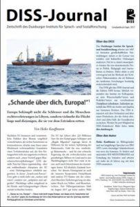 DISS-Journal Sonderdruck zur Seenotrettung Geflüchteter im Mittelmeer