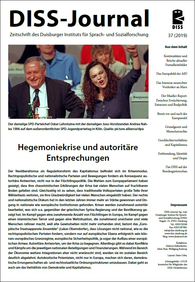 DISS-Journal 37 erschienen